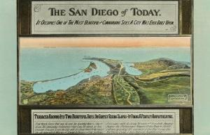 Early Map of San Diego, California