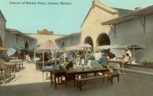 Early Market in Juarez, Mexico