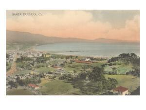 Early Overview of Santa Barbara, California