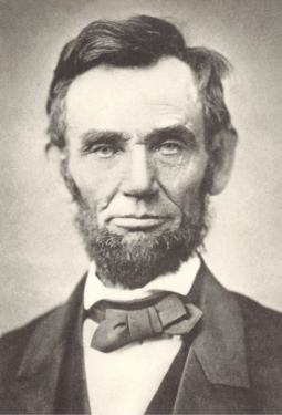 Early Photograph of Abraham Lincoln