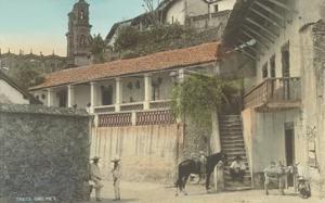 Early Scene in Taxco, Guerrero, Mexico