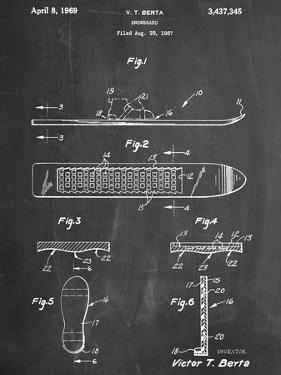 Early Snowboard Patent