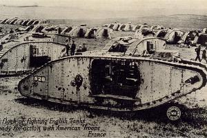 Early World War I Tanks