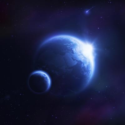 https://imgc.allpostersimages.com/img/posters/earth-and-moon-in-outer-space-with-rising-sun-and-flying-meteorites_u-L-PN8U240.jpg?artPerspective=n