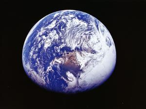 Earth from Space, Photographed by Spacecraft Apollo 16, April 16 1972
