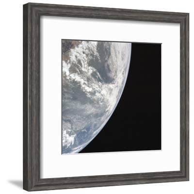 Earth's Atmosphere--Framed Giclee Print