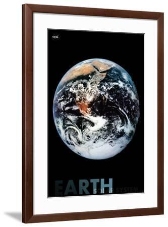 Earth--Framed Poster