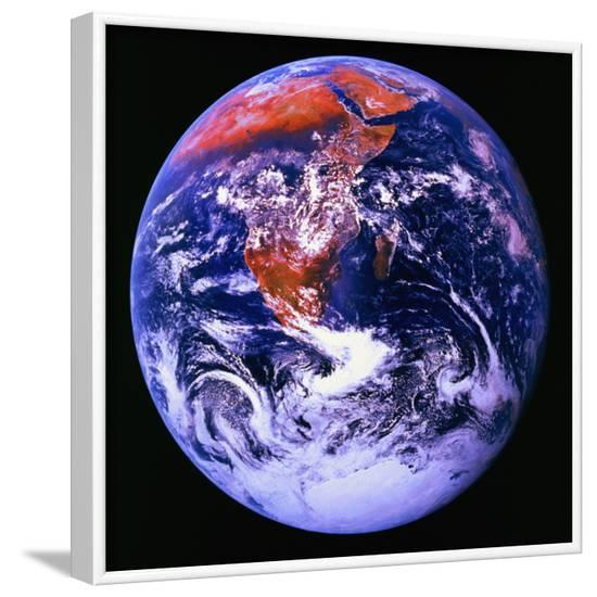 Earth--Framed Photographic Print
