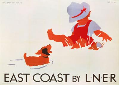 East Coast by LNER, LNER, c.1935