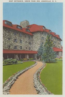East Entrance, Grove Park Inn