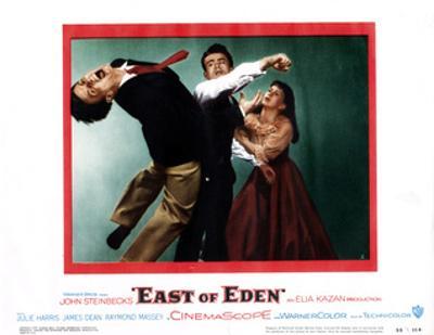 East of Eden, Richard Davalos, James Dean, Julie Harris, 1955