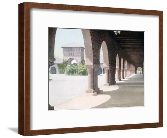 East Side of Quadrangle Leland Stanford Jr. University California--Framed Giclee Print