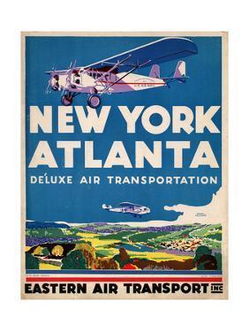 Eastern Air Transport - New York, Atlanta