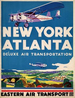Eastern Air Transport - New York, Atlanta
