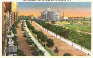 Eastern Parkway and Brooklyn Museum, New York City