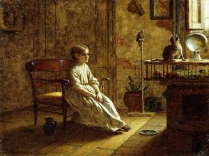 A Child's Menagerie, 1859 by Eastman Johnson