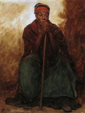 Dinah, the Black Servant, 1866-69 by Eastman Johnson