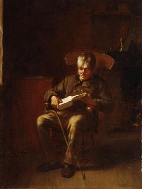 Dropping Off, 1873 by Eastman Johnson