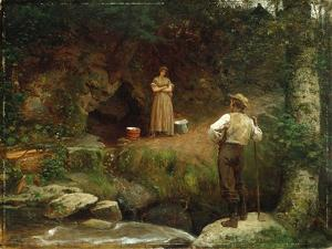 Early Lovers by Eastman Johnson