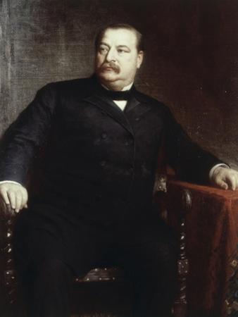 Grover Cleveland, (President 1885-1889) by Eastman Johnson