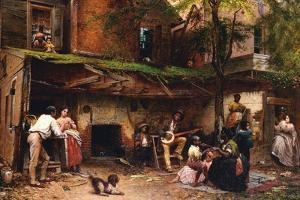 Old Kentucky Home, African American Life in the South by Eastman Johnson