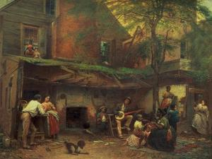 Old Kentucky Home Life in the South, 1859 by Eastman Johnson