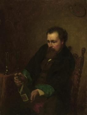 Self-Portrait, 1863 by Eastman Johnson