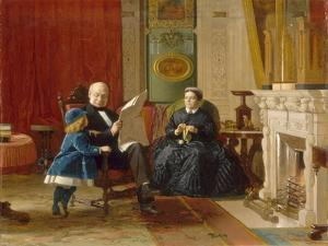 The Brown Family, 1869 by Eastman Johnson
