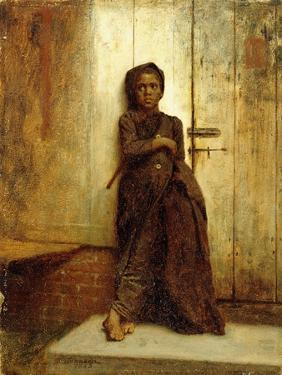 The Chimney Sweep, 1863 by Eastman Johnson