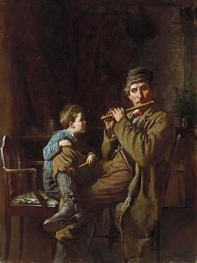 The Earnest Pupil, 1881 by Eastman Johnson