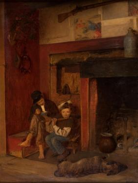 The Fifer and His Friend, 1870-80 by Eastman Johnson