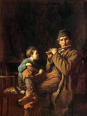 The Fifers, 1881 by Eastman Johnson