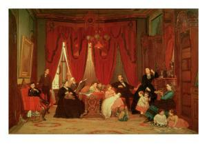 The Hatch Family, 1870-71 by Eastman Johnson