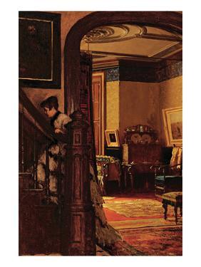 The Interior of the Artist's Home by Eastman Johnson