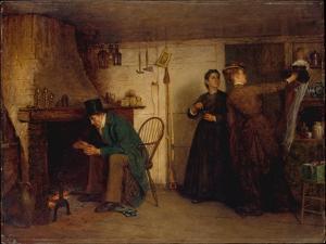 The New Bonnet, 1876 by Eastman Johnson
