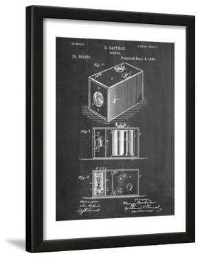 Eastman Vintage Camera Patent