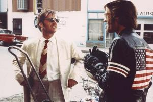 Easy Rider by DennisHopper with Jack Nickolson and Peter Fonda, 1969 (photo)