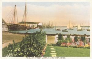 Easy Street, Waterfront, Nantucket, Massachusetts