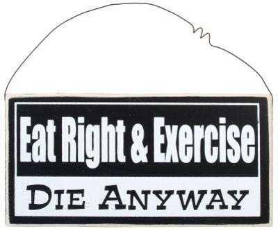 Eat Right & Exercise