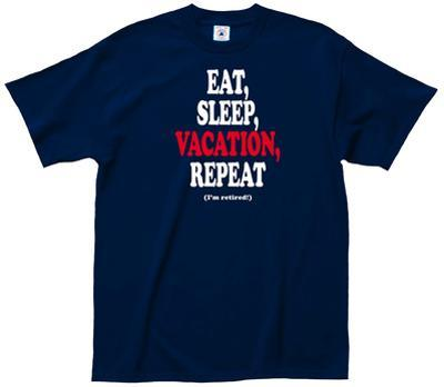 Eat Sleep Vacation Tee