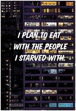 Eat With The Starved