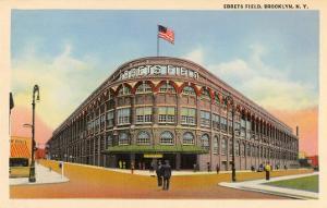 Ebbets Field, Brooklyn, New York
