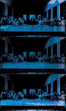 The Last Supper X-Ray (After Da Vinci) by Eccentric Accents