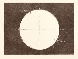 Eclipse of the Sun, March 15, 1858