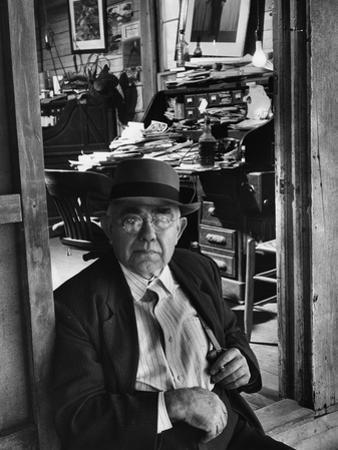 1949: Jess Motlow, Owner of Jack Daniels Distillery, Tennessee by Ed Clark