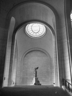 Interior View of the Louvre Museum by Ed Clark