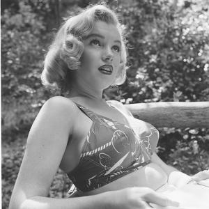 Marilyn Monroe in California by Ed Clark