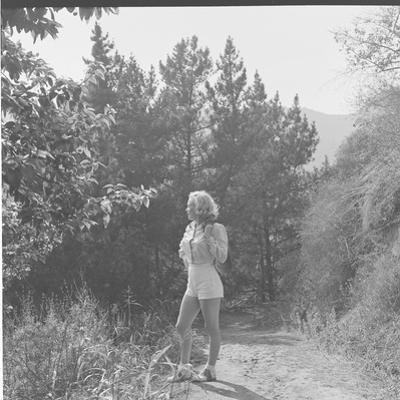 Marilyn Monroe in California by Ed Clark