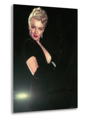 Portrait of Actress Marilyn Monroe by Ed Clark
