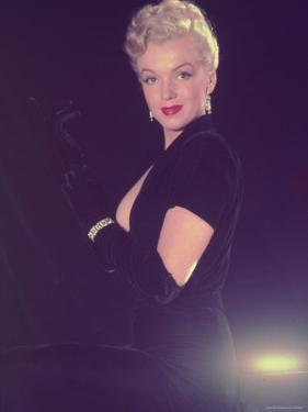 Portrait of Starlet Marilyn Monroe by Ed Clark